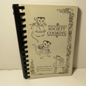 Opossum Society of United States Spiral Cookbook